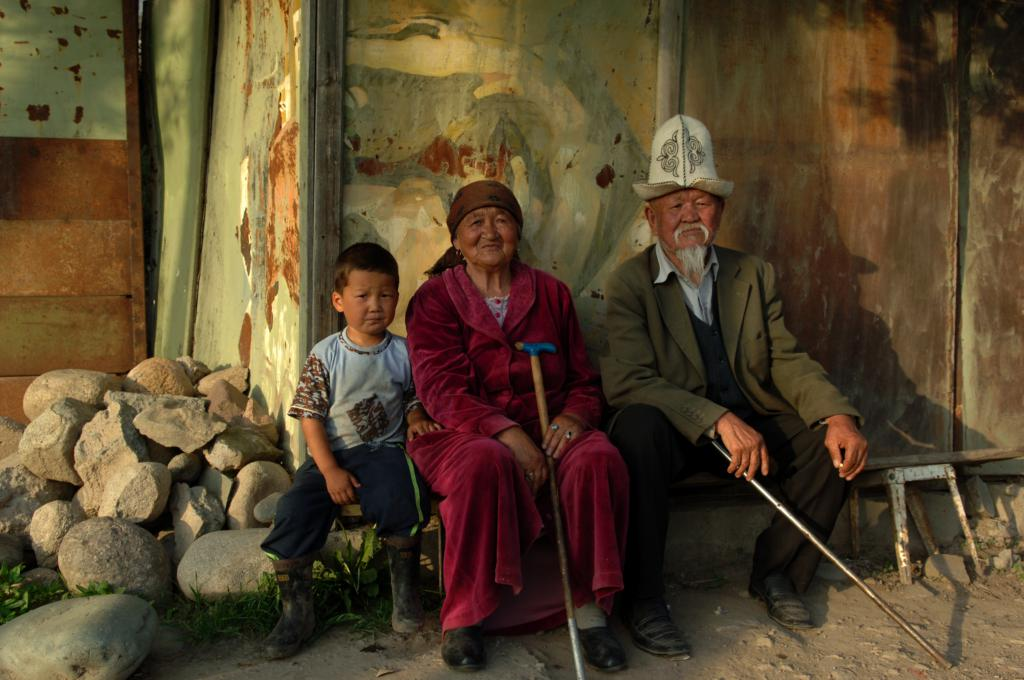 Many people in Kyrgyzs...
