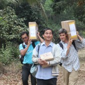 Bible Society distribution in Cambodia