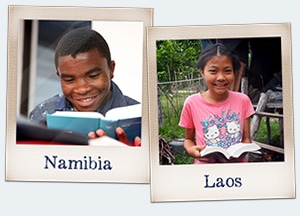 Support Christians in Namibia and Laos