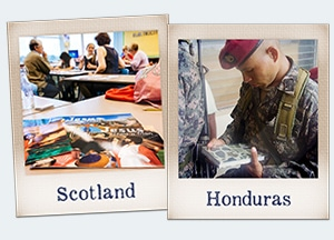 Support Christians in Honduras and Scotland