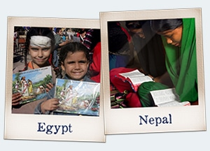 Support Christians in Egypt and Nepal