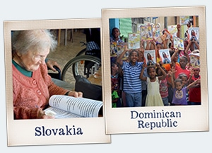 Support Christians in Dominican Republic and Slovakia