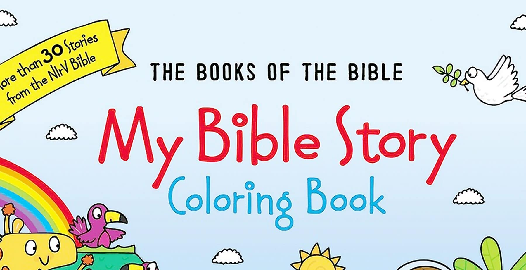 My Bible Story: Colouring Book - Scottish Bible Society