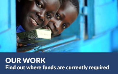 Where funds are currently needed