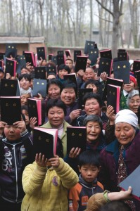 Bible distribution in China